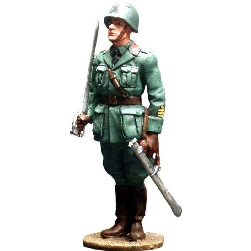 Oficial infantería italiano