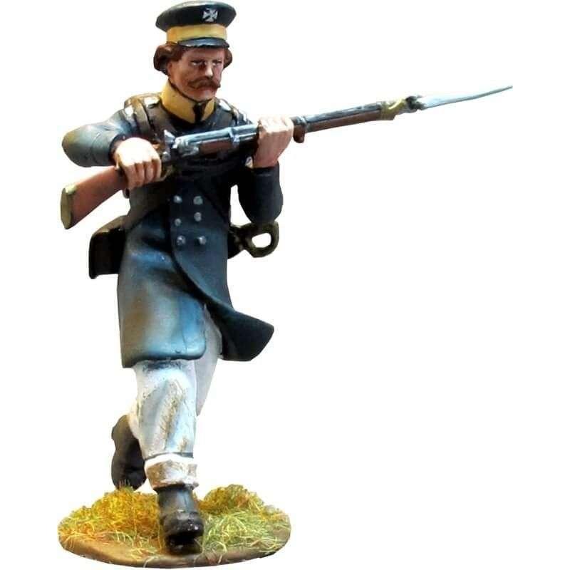 Prussian Landwehr cargando 3
