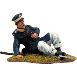 NP 294 Prussian Landwehr herido