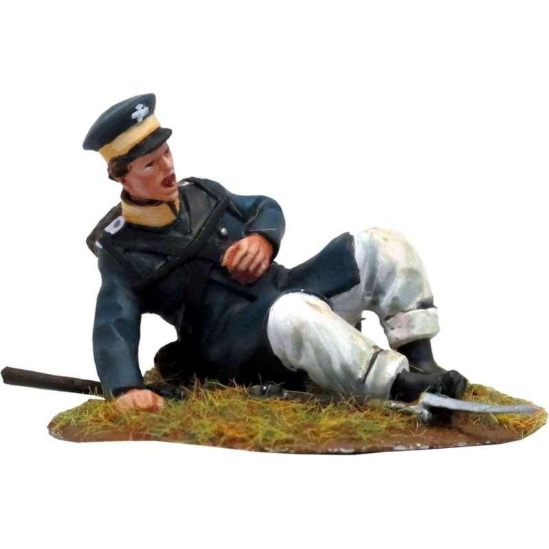 Prussian Landwehr herido