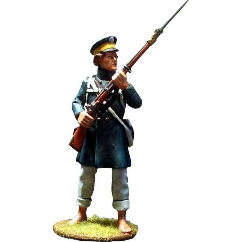 Prussian Landwehr at Grossbeeren loading 2