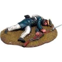 NP 613 toy soldier landwehr fallen