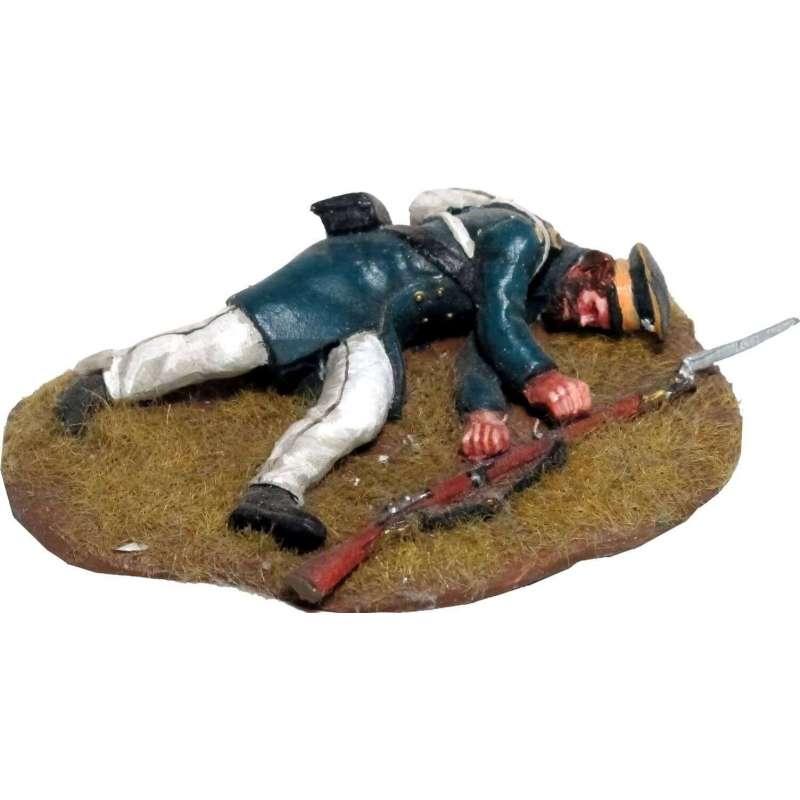 NP 613 Prussian Landwehr caido