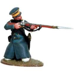 Prussian Landwehr arrodillado disparando 3