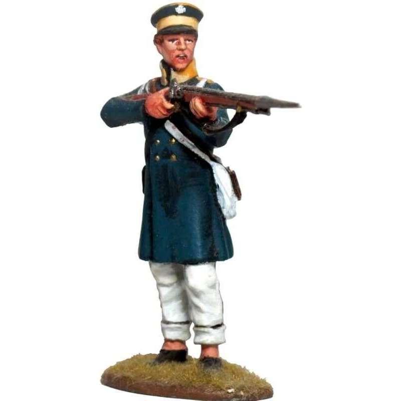 NP 615 Prussian Landwehr de pie disparando 2