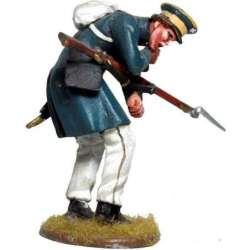 Prussian Landwehr falling