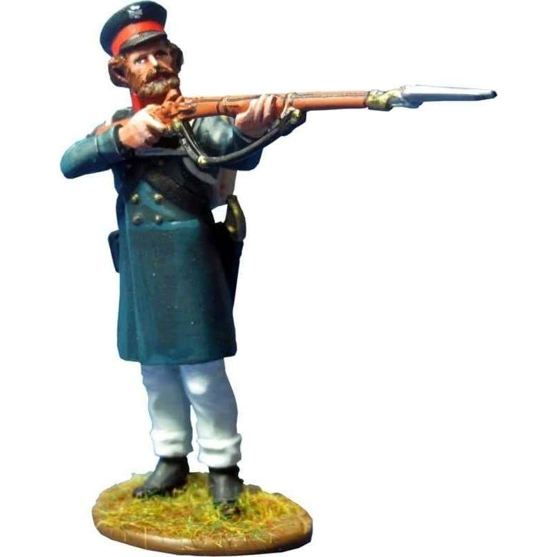 East Prussian Landwehr firing