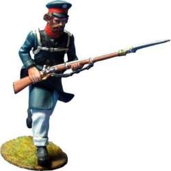 NP 356 toy soldier east prussian landwehr charging 3