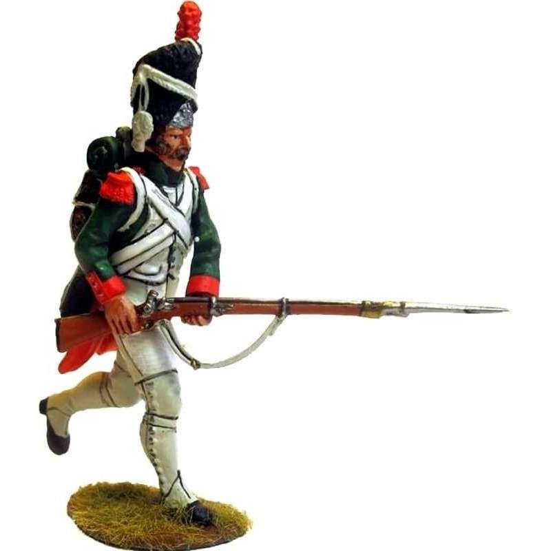 Italian Royal guard grenadier running
