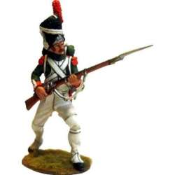 Italian royal guard grenadier at attack