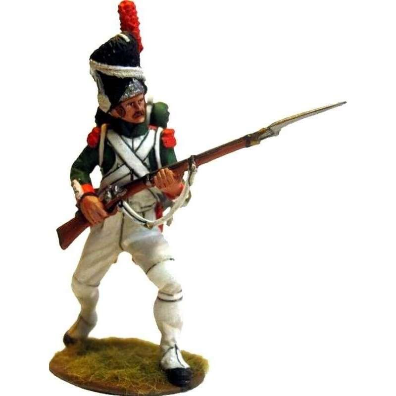 NP 469 Granadero Guardia Real italiana al ataque