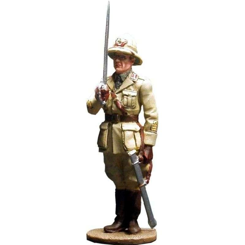 WW 028 Oficial infantería italiana Africa 1940