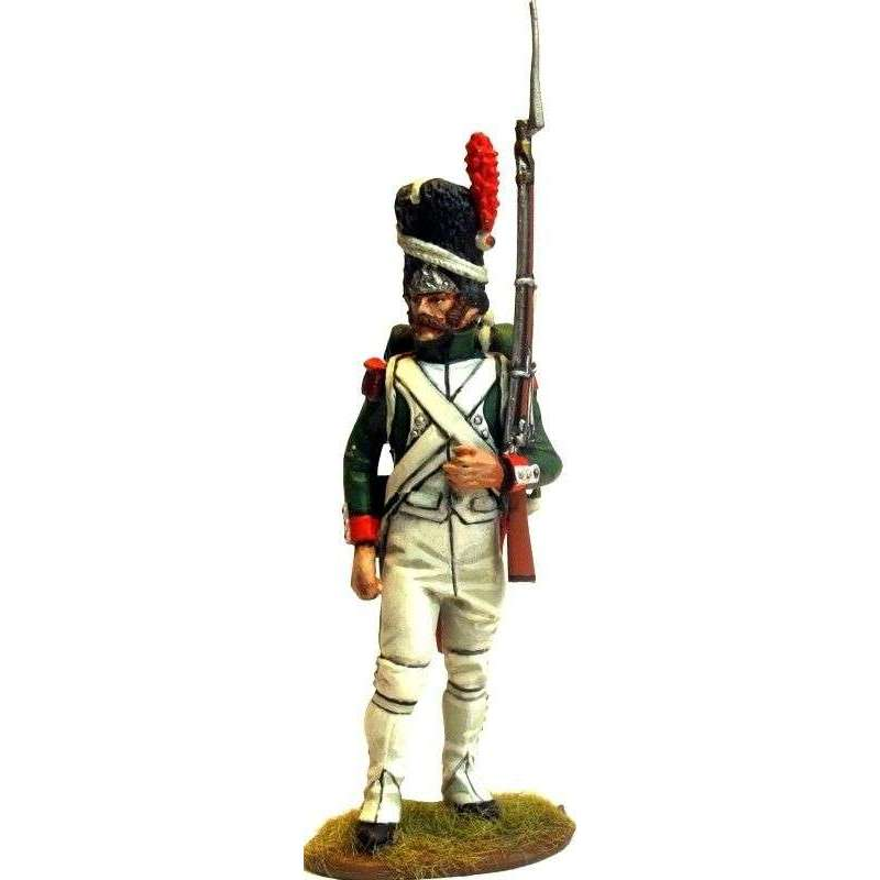 Italian Royal guard grenadier standing at rest 3