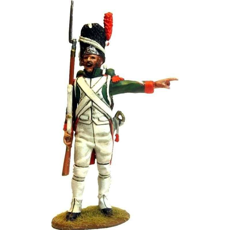 Italian Royal guard grenadier NCO