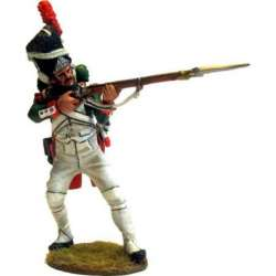 NP 476 toy soldier granadero guardia real italiana disparando