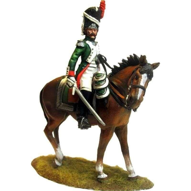 NP 478 Oficial montado Granadero Guardia Real italiana