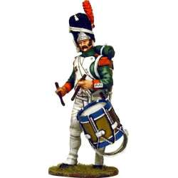 Italian Royal guard grenadier drummer