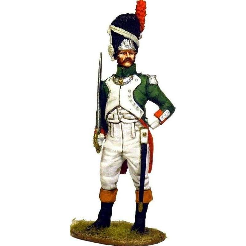 Italian Royal guard grenadier officer