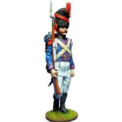 NP 386 toy soldier kingdom nápoles royal guard grenadiers nco