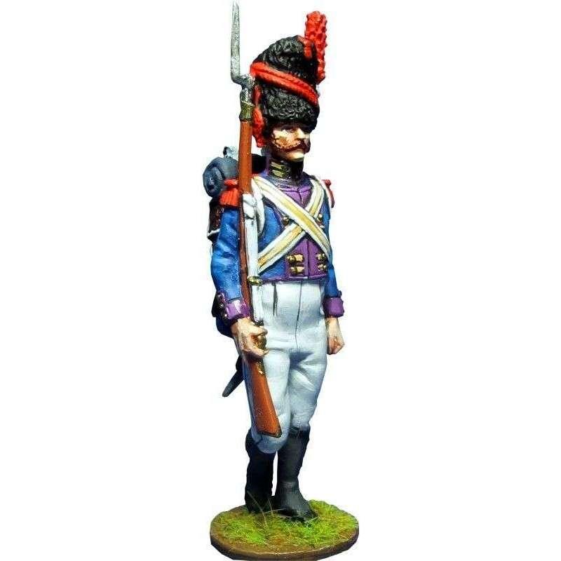 Kingdom of Nápoles Royal guard grenadiers NCO