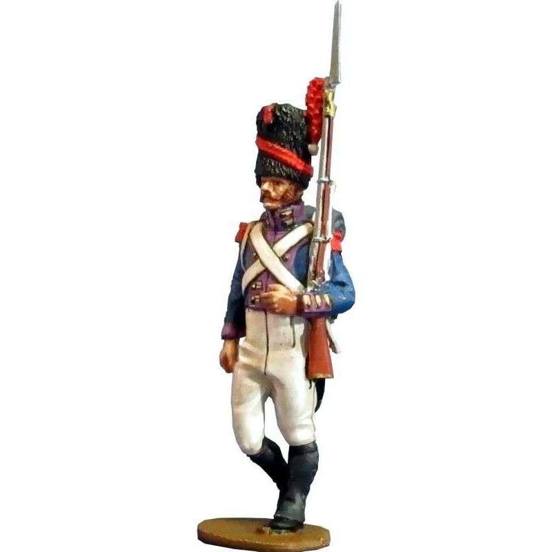 Kingdom of Nápoles Royal guard grenadiers private