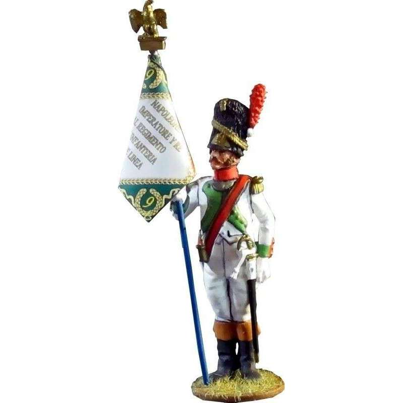 5th line infantry Kingdom of Italy standard bearer