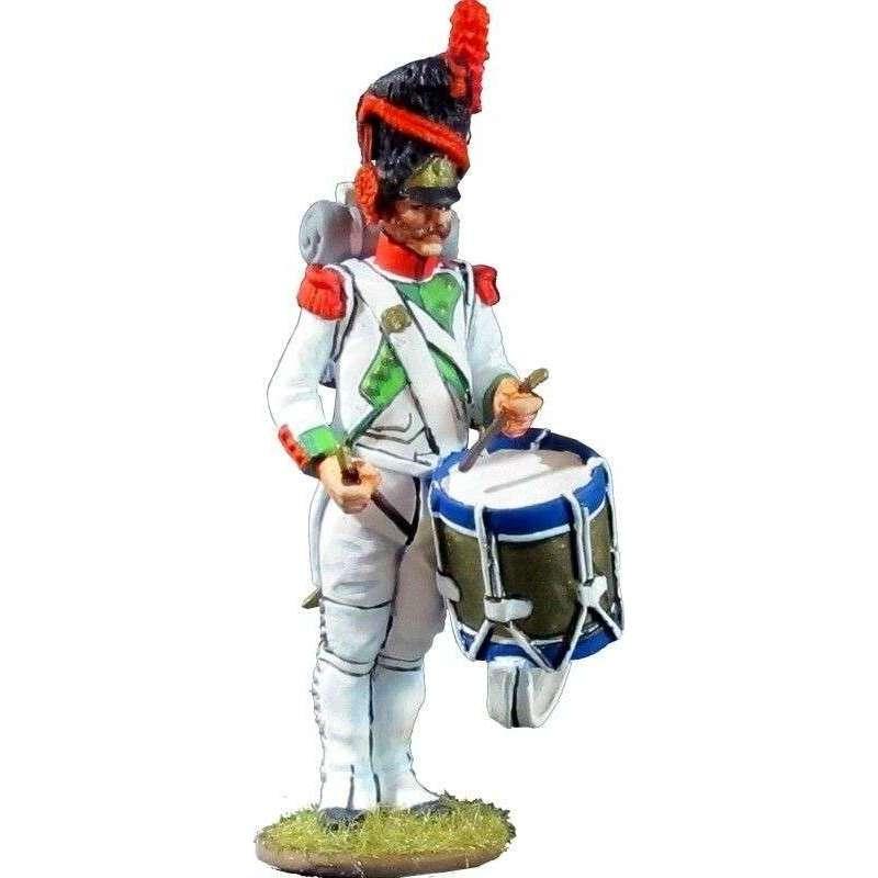 Tambor Quinto de infantería de línea del Reino de Italia