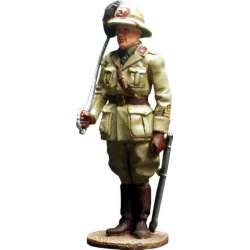 WW 030 Toy soldier bersagliere officer Africa 1940
