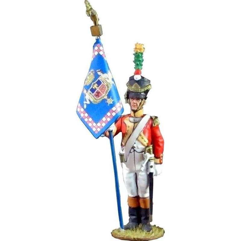 NP 432 Bandera Segundo batallón velites 1812 Reino de Nápoles
