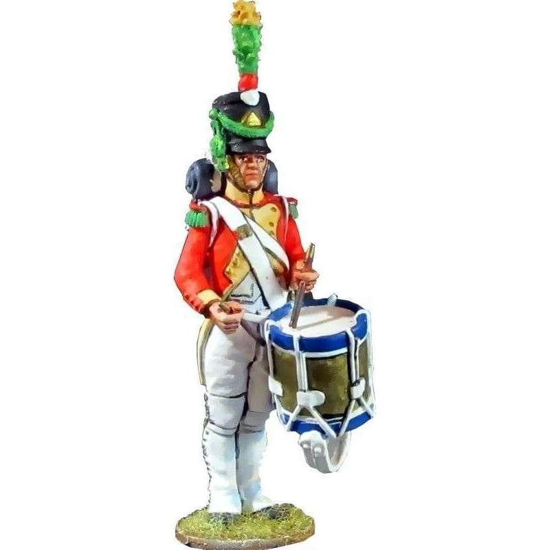 2nd Velites batallón 1812 Kingdom of Napoles drummer
