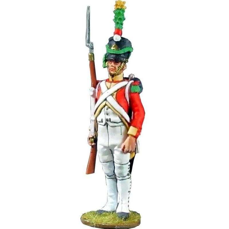 Sargento Segundo batallón velites 1812 Reino de Nápoles