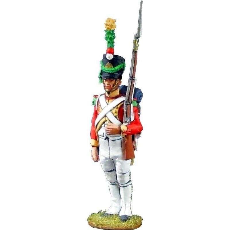 Soldado Segundo batallón velites 1812 Reino de Nápoles