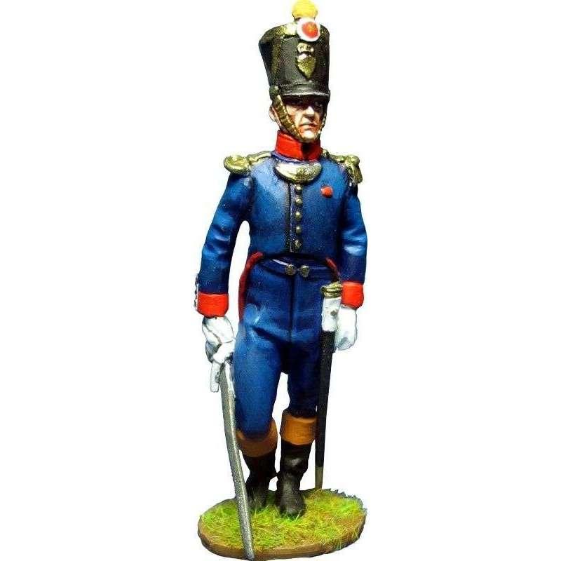 NP 387 Kingdom of Naples Dinapoli regiment officer