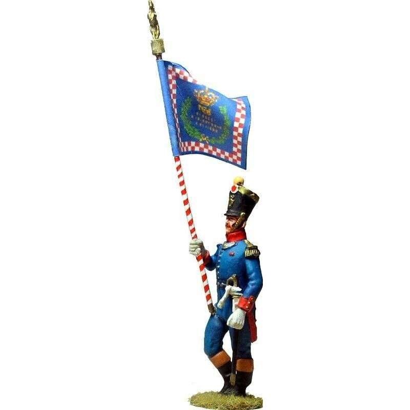 NP 594 Kingdom of Naples Dinapoli regiment standard bearer