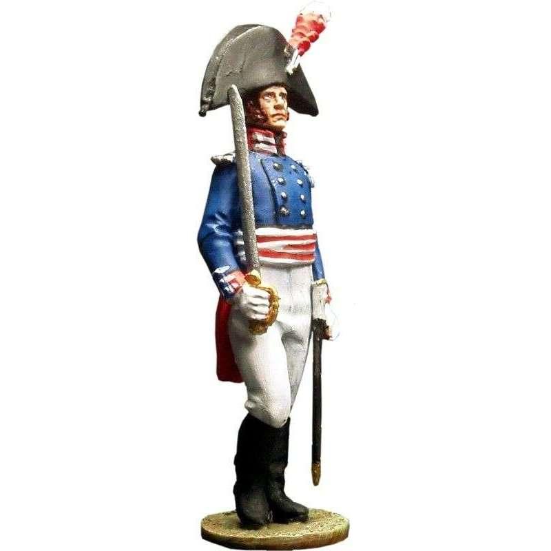 Oficial Regimiento de la guardia de Baden