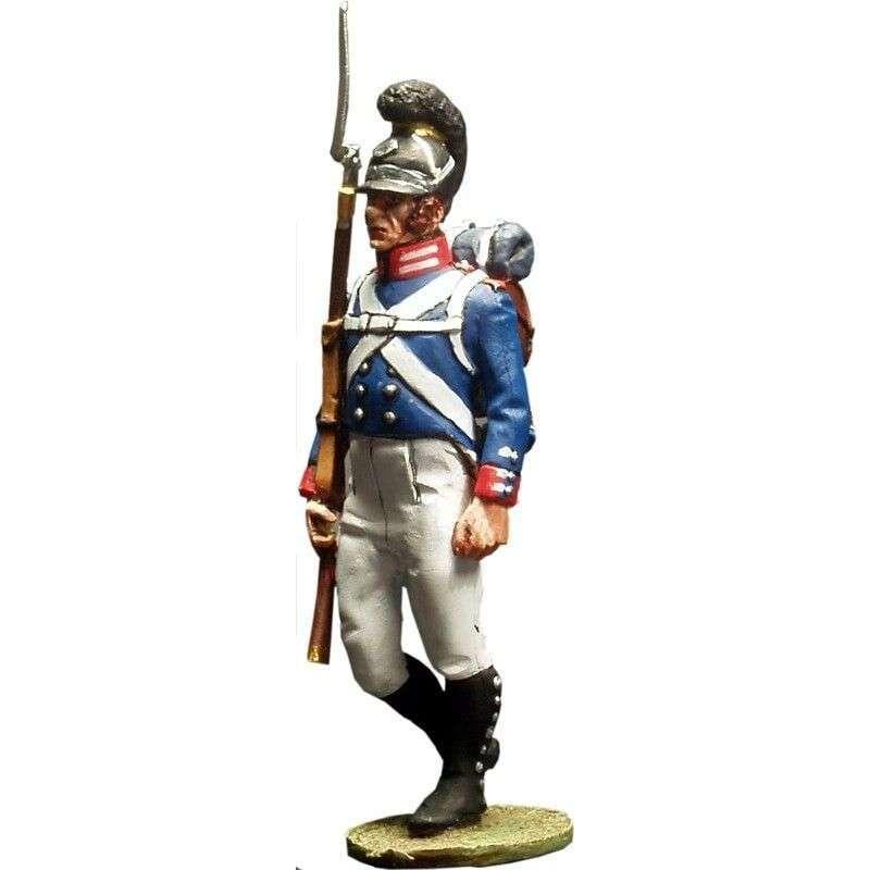 NP 059 Sargento Regimiento de la guardia de Baden