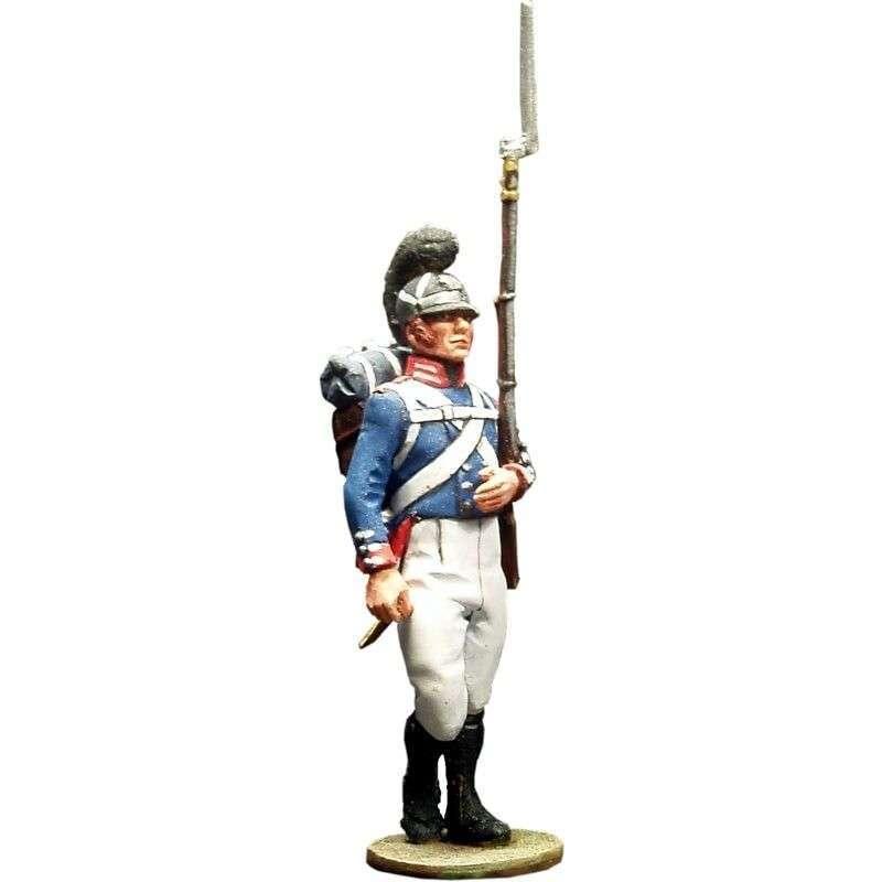 Soldado Regimiento de la guardia de Baden