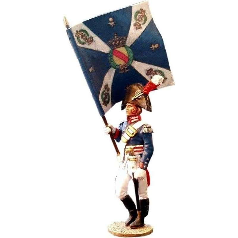 NP 080 Bandera Regimiento de la guardia de Baden
