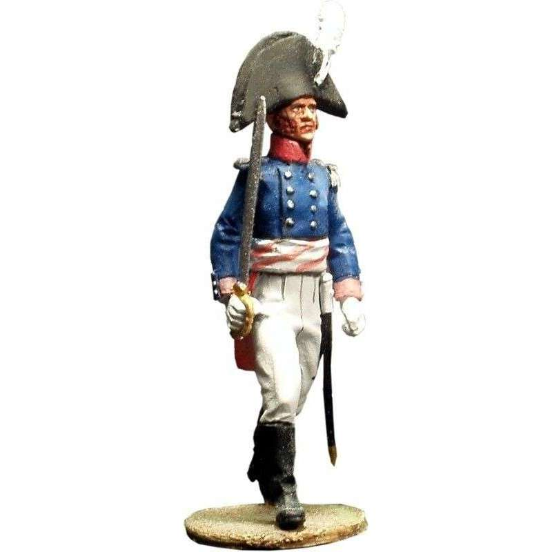 NP 061 Oficial Primer regimiento infantería Baden