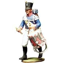 Tambor Primer regimiento infantería Baden