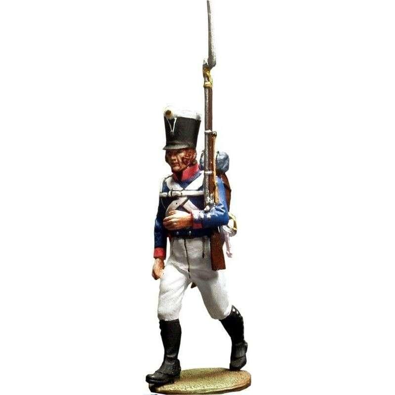 Sargento Primer regimiento infantería Baden