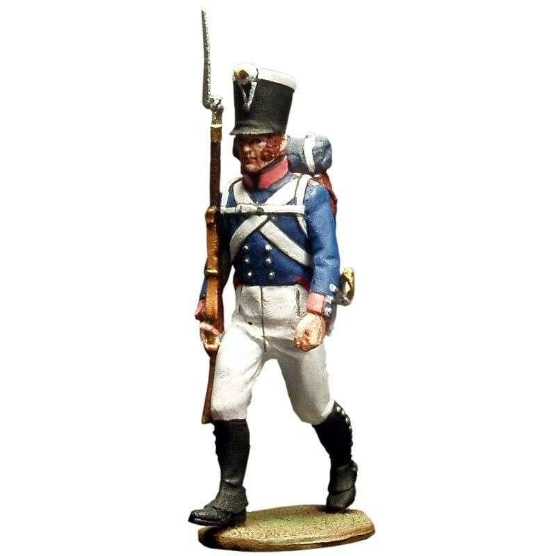 Soldado Primer regimiento infantería Baden