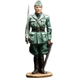 WW 032 toy soldier oficial infantería italiana
