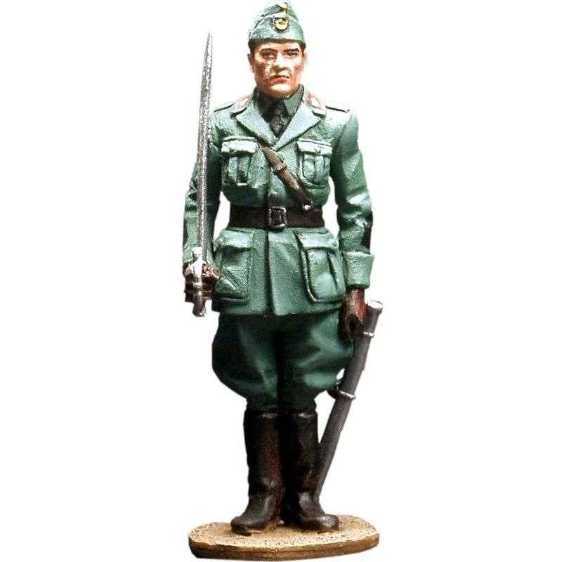 Oficial infantería italiana
