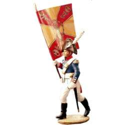 Baden first infantry regiment standard bearer