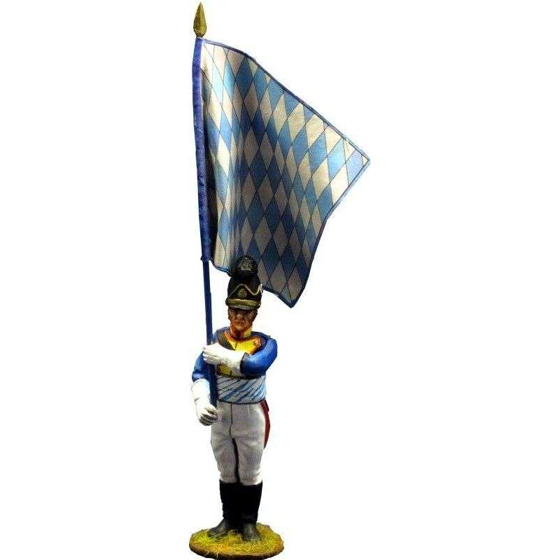 4th bavarian infantry regiment Sachsen-Hildburghausen 1811 ordinärfahne