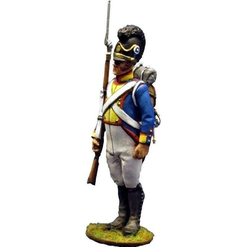 NP 208 Sargento Cuarto regimiento infantería bávaro Sachsen-Hildburghausen 1811