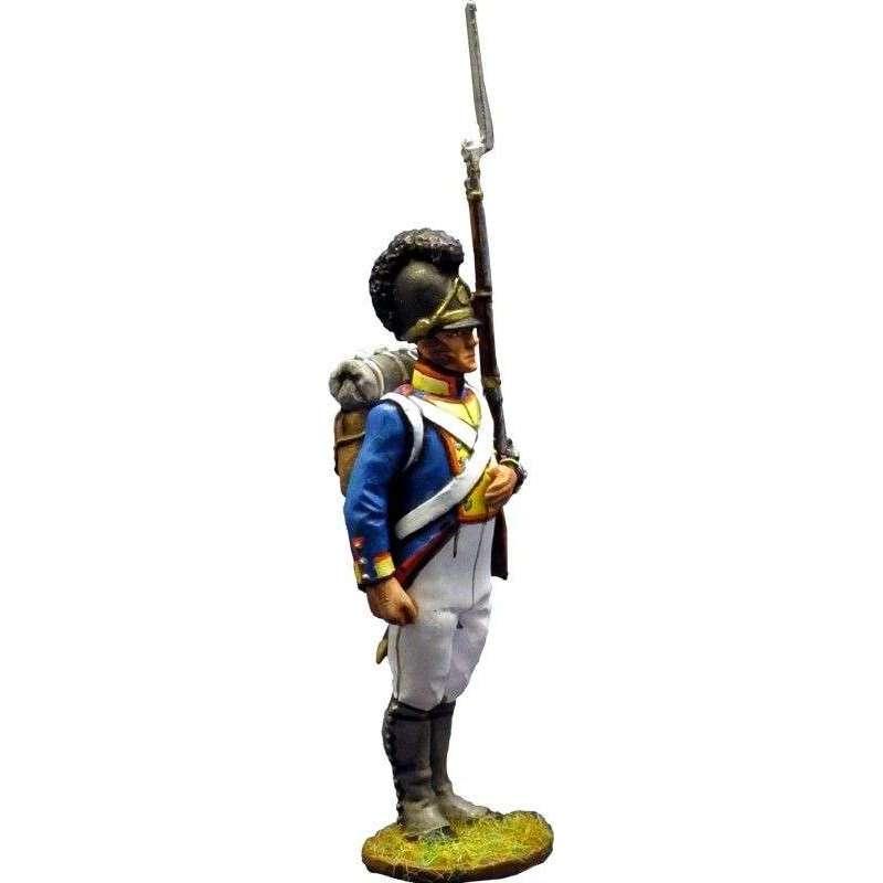 Soldado Cuarto regimiento infantería bávaro Sachsen-Hildburghausen 1811