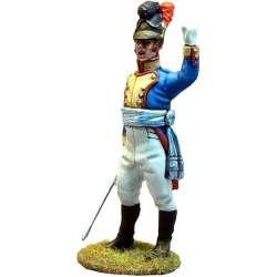 NP 265 toy soldier Oficial 1 regimiento 4 infantería línea bávaro