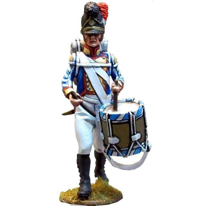Tambor Cuarto regimiento infantería línea bávaro